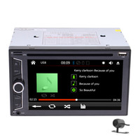 Wholesale dvd player mp3 radio tuner resale online - Car Stereo Bluetooth Double Din Car Radio In Dash Car DVD CD Player Headunit FM AM RDS Bluetooth Subwoofer Steering Wheel Control