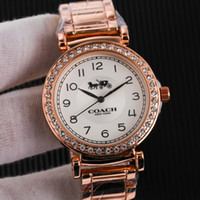 ingrosso strisce donne calde-Vendita calda marca diametro35mm acciaio striscia orologio moda lusso orologio classico donna Orologi casual orologio Relogio marca orologi da polso