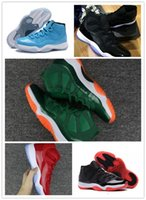 Wholesale easter door - 2018 New fashion Mens and Womens 11s Low Barons Basketball Shoes Out Door Sports Sneakers for Men Size US5.5-13