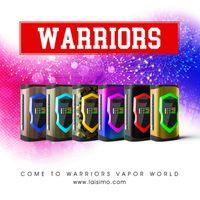 Wholesale Metal Warriors - 100% Original Laisimo Warriors 230W Box Mod VW TC Dual 18650 20700 Battery Mods For 510 Thread Atomizer Tank Genuine