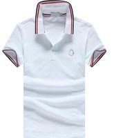 Wholesale Cheap Cotton T Shirts - PoloShirt men Short Sleeve T shirt Brand M polo shirt men Dropship Cheap High Quality M-XXXL Free Shipping