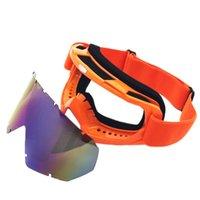 snowmobile eyewear großhandel-Neueste Ski Snowboardbrillen Verhindern Wind Snowmobile Dirt Bike Brille Motocross Off-Road Eyewear Multi Farbe