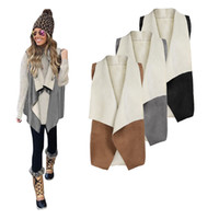 casaco de inverno branco sexy venda por atacado-Tan Mulheres Senhoras Sexy Casaco de Pele De Raposa Casaco de Inverno Outwear Colete Quente Colete Z10