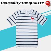 Wholesale Train Suits - 2018 world cup France Training suit France Soccer train Shirt 2018 world cup MBAPPE KANTE national team football Uniform