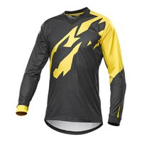 Wholesale clothing for men ciclismo online - 2018 New MAVIC Downhill Jersey Crossmax Ciclismo Clothes for Men MTB T Shirt Breathable Light Quick Dry Long Sleeve Jersey D
