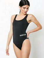 Wholesale womens sexy swimwear - 2018Backless One Piece Swimsuit Womens Sexy Swimwear New Swimming Bathing Suits High Cut Ladies