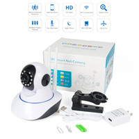 cámaras de seguridad de grabación inalámbrica al por mayor-Cámara IP de seguridad para el hogar Cámara WiFi inalámbrica inteligente Monitor de audio con Wi-Fi WI-FI Vigilancia del bebé Mini cámara CCTV de 1080p