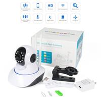 ingrosso sicurezza della telecamera-Home Security Telecamera IP Wireless Smart WiFi Telecamera WI-FI Audio Record Sorveglianza Baby Monitor HD Mini CCTV Camera 1080P