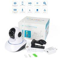 wireless wifi kamera audio großhandel-Sicherheits-IP-Kamera-drahtlose intelligente WiFi-Kamera WI-FI Audioaufzeichnungs-Überwachungs-Baby-Monitor HD Mini-Überwachungskamera 1080P