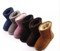 Wholesale sale boots embroidered for sale - Group buy Hot SALE New Real Australia High quality Kid Boys girls children baby warm snow boots Teenage Students Snow Winter boots