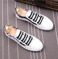 imagem tênis venda por atacado-2018 Novo Estilo LLuxury Sapatos de Grife Sapatos Masculinos de Alta Qualidade Tênis Outono Inverno Homens Sapatos de Corrida Imagem Real G159