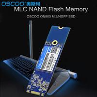 dahili yarıiletken sürücüler toptan satış-OSCOO MLC NAND FLASH SSD 60 GB 120 GB 240 GB 480 GB Dahili Katı Hal Sürücü Sabit Disk M.2 Dizüstü Masaüstü Için NGFF 2280 Arayüzü