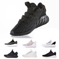 tubular al por mayor-Entrenador Sneaker sporte Zapatillas de entrenamiento de running profesional amortiguador de absorción de choque Recién llegado Tubular Doom calcetín PK V2 Deportes para hombres de las mujeres