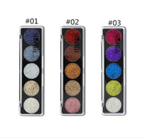 Wholesale powder delivery - Beauty products high-quality 5 glitter glitter eye shadow stage makeup COS flash powder eye shadow free delivery