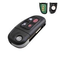 reemplazo de llaveros automático al por mayor-AUTOS Reemplazo Controles de entrada sin llave Fobs Flip Car Key Fob NHVWB1U241 Para seleccionar Jaguar