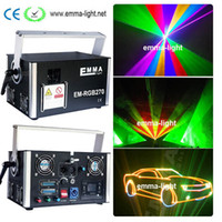 Wholesale rgb laser dmx ilda - Hot Sale 50000 RGB 5W Full Color DMX ILDA SD Lazer Animation DJ Laser Stage Lights for sale