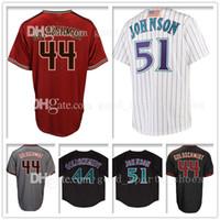 Wholesale black paul goldschmidt jersey - Mens 44 Paul Goldschmidt Jersey 51 Arizona Goldschmidt Baseball Jerseys 44 Paul Goldschmidt Adult Free Shipping