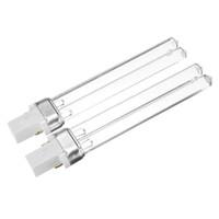 9w uv rohre großhandel-2 stücke UV-9 Watt Keimtötende Lampe UV-C 253,7nm 254nm Wasser Luftdesinfektion Reinigung Sterilisator 9 Watt UVC H-Form Rohr LED_004