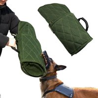 Wholesale german cartoons - Free Shipping Dog Protection Bite Arm Sleeve for Training Schutzhund Police K9 Rottweiler German Shepherd Fit Left Right Hands