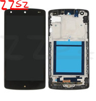 Wholesale lg g2 touch screen for sale - Group buy OEM for LG G2 D805 D802 D800 LCD Display Touch Screen Digitizer Full Assembly Glass Touch Panel Tested DHL