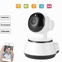 cámara ip wifi mp al por mayor-cámara de seguridad wifi monitor de bebé P2P cámara de infrarrojos pan-tilt con acceso remoto niño cámara de vigilancia ip cámara inalámbrica