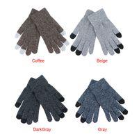 многоэкранный планшет оптовых-Women Men Multi-function Knitted Screen Winter Gloves Soft Warm Mitten for iPhone Smartphones Laptop Tablet