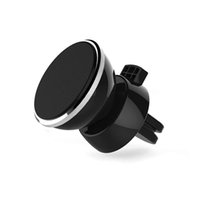 Wholesale Strong Magnetic Car Air Vent Mount Degree Rotation Universal Mobile Phone GPS Bracket Holder With Retail Package