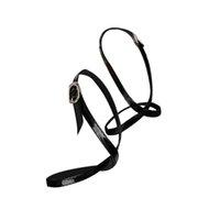 cordones de cuero al por mayor-MUSEYA Zapatos de tacón alto de cuero, desmontables y flexibles, desmontables, correas de zapatos (negro)