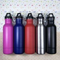 Wholesale Thermos Warmer - Beer Bottle Armour Koozie Keeper Stainless Steel Thermos flask Insulation cup with Bottle Opener