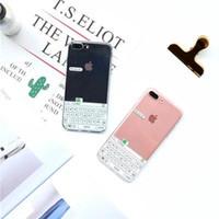 ingrosso iphone6 più tpu caso-chiaro caso tastiera B10 Förg TPU per iPhone7 più, la copertura posteriore protettivo per iPhone6 / 6S inclusa 4,7 / 5.5inch