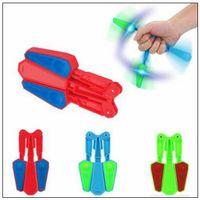 Wholesale Train Wholesale - 3 Colors Flip Finz Relief Toys Flip Finz Stress Reliever Light Up Butterfly Flipper Hand Training Focus EDC Toy CCA9404 300pcs
