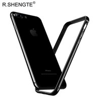 Wholesale aluminium frame - MOQ 1PCS Luxury Phone Metal Bumper For Apple iPhone 7 7Plus Case Ultra-thin Aluminium Alloy Protective Frame Bumper For iPhone 7 Plus