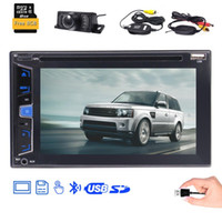 Wholesale build wireless antenna for sale - Group buy Double Din Car DVD Player in Dash Car Stereo quot Capacitive Touchscreen Steering Wheel Control GPS Antenna Wireless Camera Remote Control