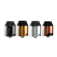 Wholesale vgod atomizer rda resale online - 100 Original VGOD Elite RDA Tank mm Atomizer Dual Vertical Post Design suit for vgod pro mech mod Vgod elite w mod