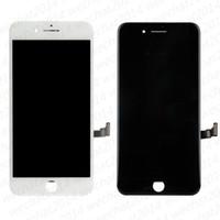 reemplazo libre del iphone al por mayor-Piezas de repuesto de la asamblea del digitizador de la pantalla táctil de la pantalla LCD de la alta calidad para el iPhone 6 6s Plus 7 8 más DHL libre