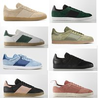 Wholesale ba gold - Free shipping suede solid white black green grey pink blue bb men women s fashion classic ba casual sneaker shoes size 36-44 5264 5476 76225
