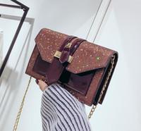 bolso de proa a cuadros al por mayor-46 estilos Bolsos de moda 2019 Bolsos de mujer bolsos de diseño bolsos de mujer bolsos de hombro Bolsos de mano