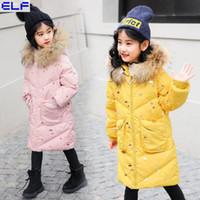 chaqueta sin mangas de bebe al por mayor-Chaleco de los niños niños niñas chaleco de invierno de Corea niños abajo algodón otoño abrigo bebé niño cálido algodón top sin mangas chaqueta