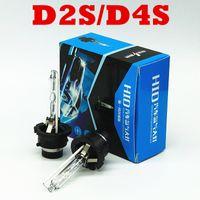 xenon d2c toptan satış-100 pairs D2S HID Xenon Ampul Araba Far D2C 12 V 35 W 6000 K 4300 K