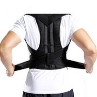 maintien de la taille au dos achat en gros de-Dos de correction de la posture Épaule Ceinture de soutien pour la colonne vertébrale Lombaire Réglable Corset Adulte Ceinture Correction de la posture Ceinture Taille
