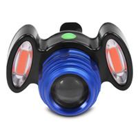 Wholesale usb charging headlamp for sale - Group buy Multifunctional Bicycle Headlight USB Charging Waterproof Light Bike Headlamp