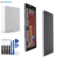 Wholesale original huawei ascend p7 for sale - Group buy 5 inch x1080 Original for Huawei Ascend P7 LCD Display and Touch Digitizer Screen Assembly with Frame Replacement