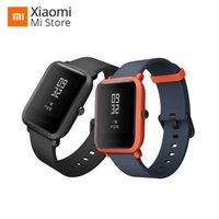 xiaomi renkleri toptan satış-Küresel Sürüm Xiaomi Amazfit Akıllı Izle Gençlik Edition Bip BIT PACE Lite ultra-hafif 1.28