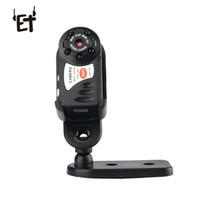 ip kamera için mini dvr toptan satış-ET Q7 Mini Kamera Wifi DV DVR Kablosuz IP Kam Fonksiyonlu Kızılötesi Gece Görüş Video Kaydedici Hareket Algılama Kamera