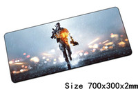 Wholesale Professional Mouse Pads - Battlefield 4 mouse pads 70x30cm pad to mouse notbook computer mousepad Professional gaming mousepad gamer to laptop mat