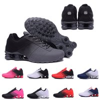 Wholesale White Canvas High Tops - 2018 Newest Shox Deliver 809 Men women Running Shoes Cheap Fashion Sneakers white black red Shox Current Top Quality Sport Shoes Eur 36-46