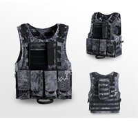 Wholesale softshell hunting jackets online - Fast Drying Hunting Jackets Field Operations Protection Vests Ventilation Combat Assault Plate Carrier Nylon Tactical Vest Colorful qy jj