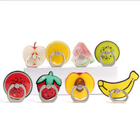 Wholesale ring spots - Creative personality refers to the ring phone holder cartoon fruit lazy universal gift spot wholesale