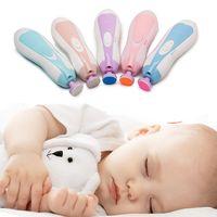 ingrosso forbici per la sicurezza del bambino-Set di forbici per tagliaunghie per neonati Set di forbici per tagliaunghie per neonato adorabile Prodotti per la cura del bambino