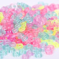 gummiband armbänder clips großhandel-240 stücke Kind Mix Farbe S-Clips Gummibänder Armband, Die DIY Werkzeug Armbänder # 61332